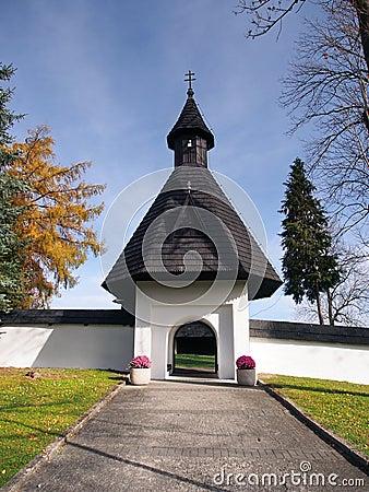 Free Gate To Church In Tvrdosin, Slovakia Stock Image - 34740601