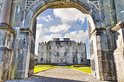 Gate to Portumna Castle