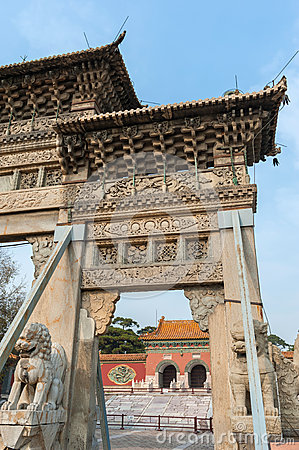 Gate to ZhaoLing Tomb