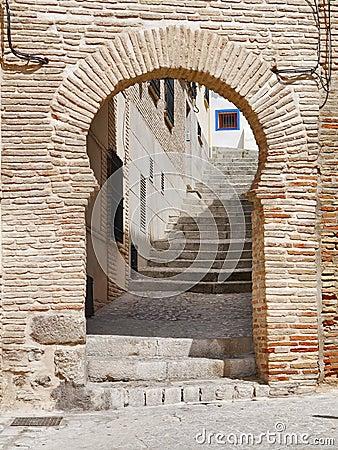 Gate into toledo