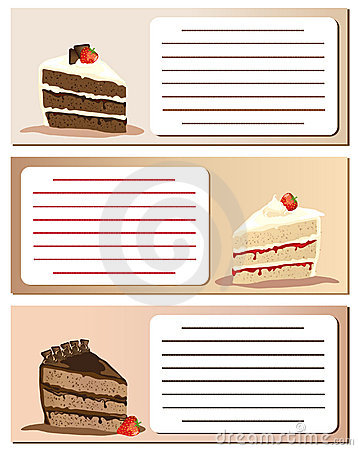 Gateaux notes