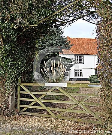Gated farmhouse