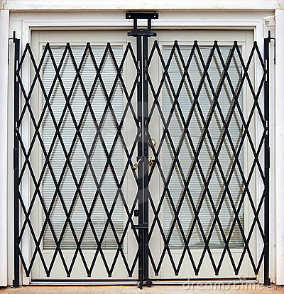 Free Gated French Doors Stock Photos - 1371863