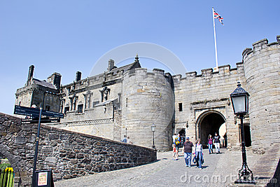 Gatehouse, Stirling Castle Editorial Photo