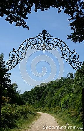 Through the gates