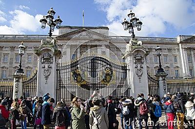 Buckingham place Editorial Photo