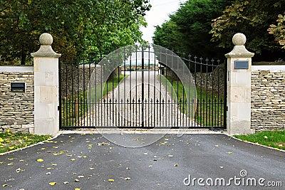Gates and Driveway