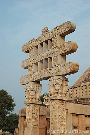 Gates of Great Stupa at Sanchi