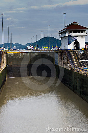Gates of the Miraflores Locks
