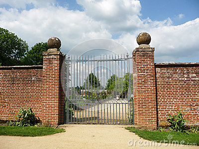 Gates To Walled Garden