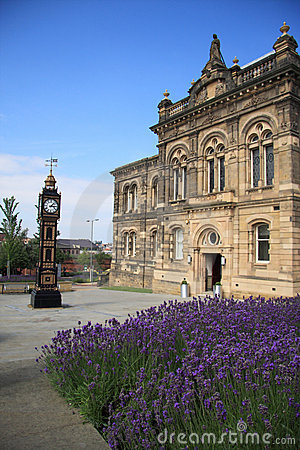 Gateshead Town Hall & Clock