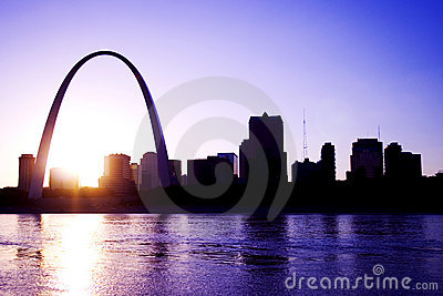 Gateway Arch St. Louis Missouri Skyline
