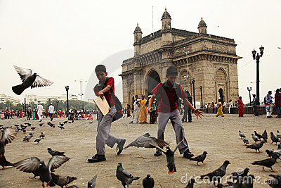 The Gateway of India Editorial Photo