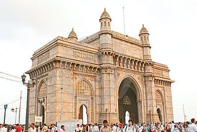 Gateway Of India in Mumbai,India Editorial Stock Image