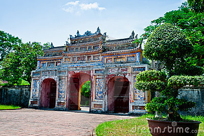Gateway to the Forbidden City of Hue
