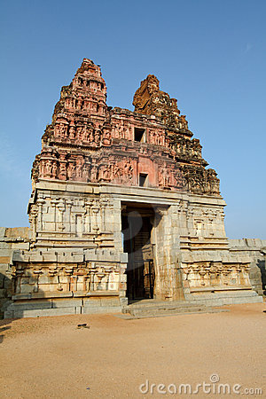 A Gateway tower in the Vittala temple ruins