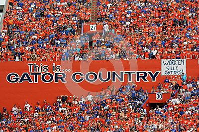 Gator Country Editorial Image