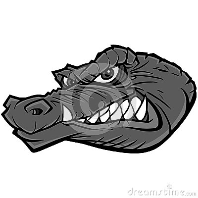 Free Gator Mascot Illustration Royalty Free Stock Photo - 110575815