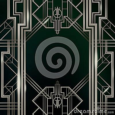 Art Deco Background Gatsby