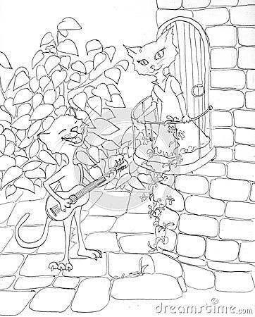 Gatti romantici - profilo