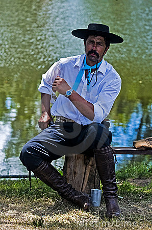 Gaucho festival Editorial Stock Image