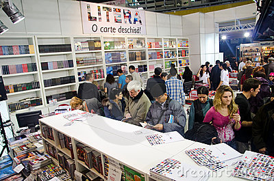 GAUDEAMUS International Book and Education Fair Editorial Stock Photo