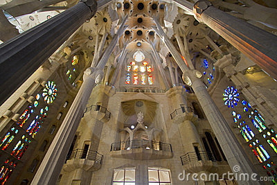 Gaudi Architecture Editorial Photography