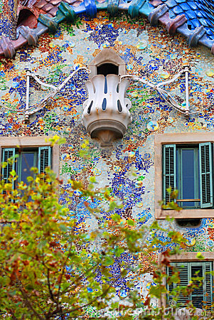 Free Gaudi - Casa Batllo Royalty Free Stock Photo - 3697475