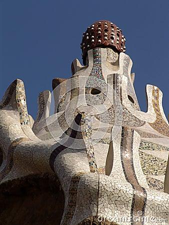 Gaudi roof