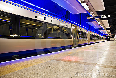 Gautrain - High Speed Commuter Train