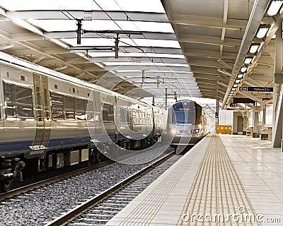 Gautrain - High Speed Commuter Train Editorial Photo