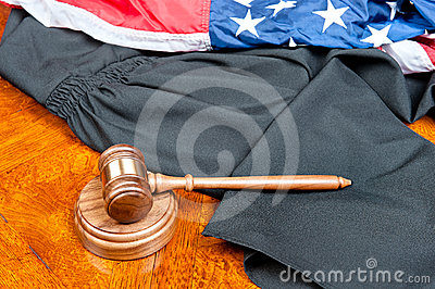 Gavel and gown