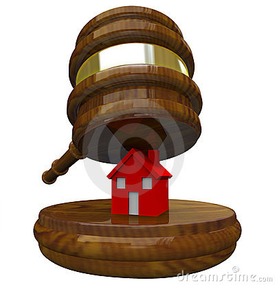Gavel and House - Foreclosure and Bankruptcy