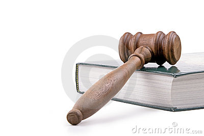 Gavel and Textbook