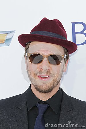 Gavin DeGraw at the 2012 Billboard Music Awards Arrivals, MGM Grand, Las Vegas, NV 05-20-12 Editorial Photo