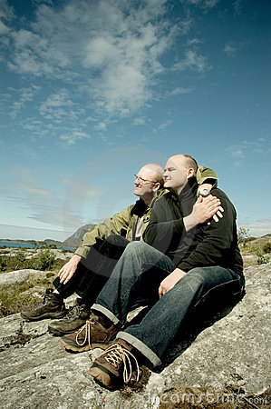 Free Gay Couple Stock Photography - 1072252