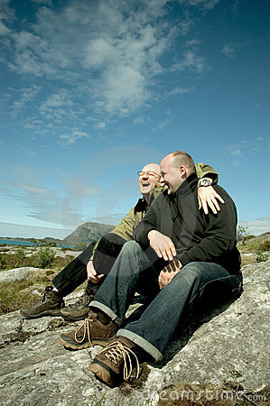 Free Gay Couple Royalty Free Stock Photography - 1072287