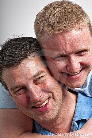 Free Gay Couple Stock Photography - 8579162