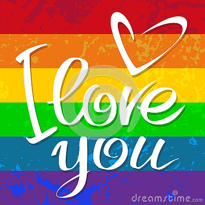Free Gay Flag Love Royalty Free Stock Images - 80119409