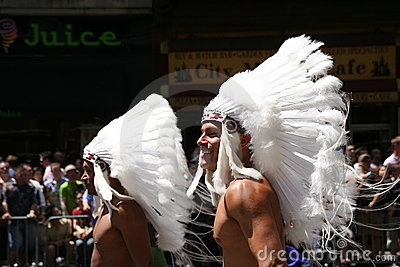Gay indians Editorial Stock Photo