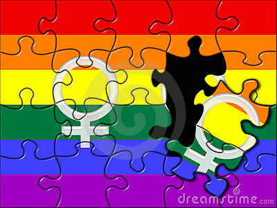 Gay lesbian puzzle