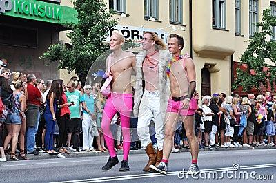 Gay men Editorial Stock Photo