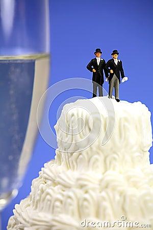 Free Gay Or Same-sex Marriage Concept. Royalty Free Stock Photos - 7535808