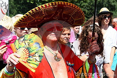 Gay parade Editorial Stock Photo