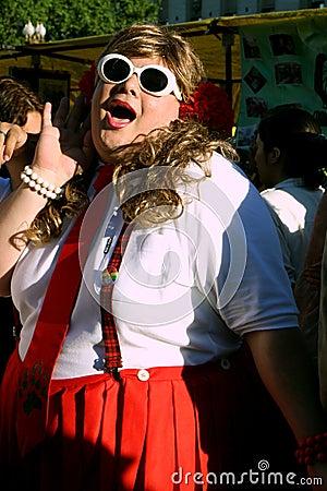 Gay Parade in Buenos Aires Editorial Image