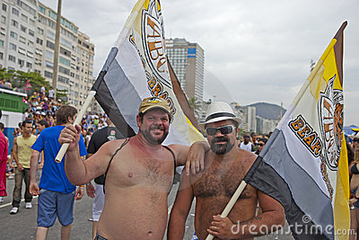 Gay Parade Rio 2011 Editorial Image