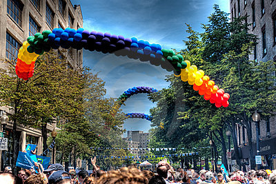 Gay Pride Editorial Stock Image