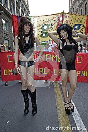 Gay Pride Genova 2009 Editorial Image