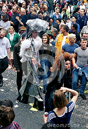 Free Gay Pride In Paris Stock Images - 87277104