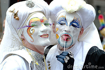 Gay Pride in Munich, Germany Editorial Stock Image